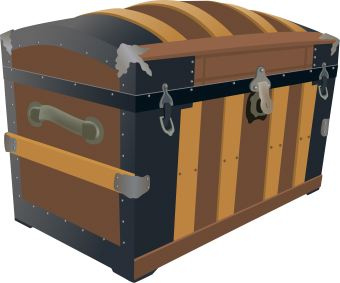 I put a ______ in Grandmothers trunk.